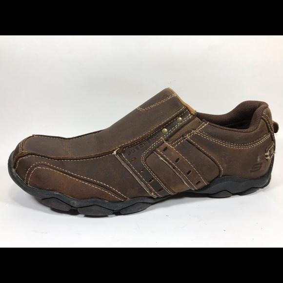 Skechers Diameter Heisman Loafers Men 10.5 Leather